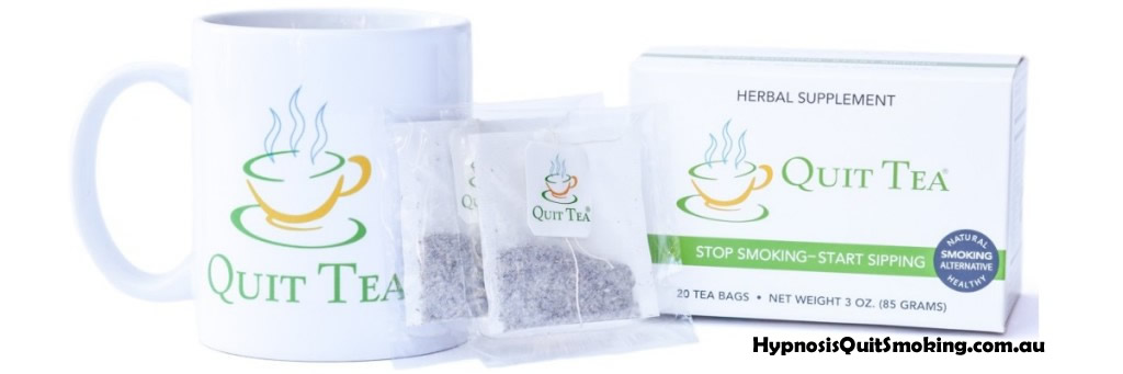 Quit Tea Quit smoking, start sipping ... tea