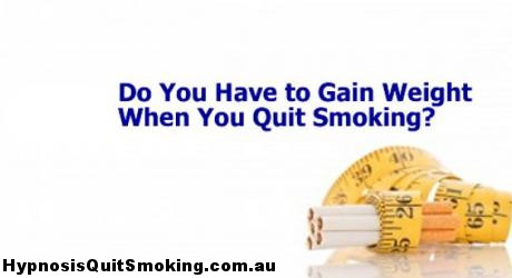 weight gain when you quit smoking Why weight gain when you quit smoking isnt a problem