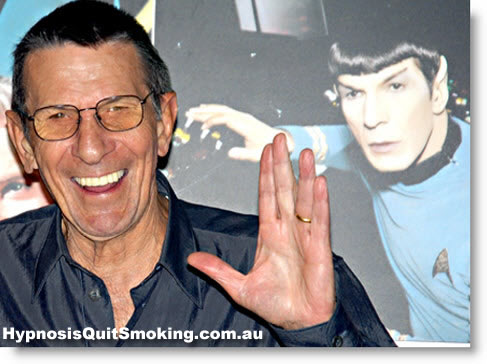 leonard nimoy 'Spock' urges fans to Quit Smoking